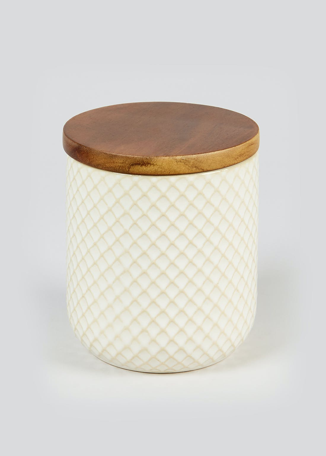 Embossed Kitchen Canister (11.5cm x 10.5cm)