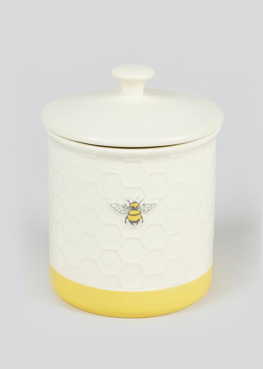 Bee Kitchen Canister (14cm x 12cm)