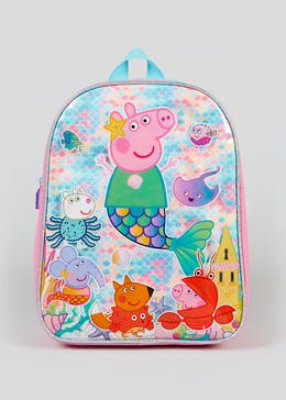 Kids Peppa Pig Mermaid Backpack