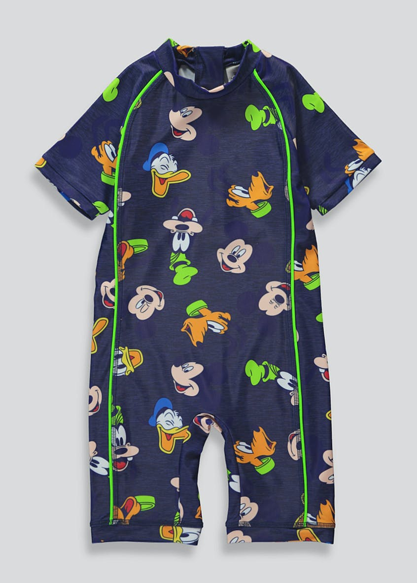 Kids Disney Mickey & Friends Surf Suit (3mths-4yrs)