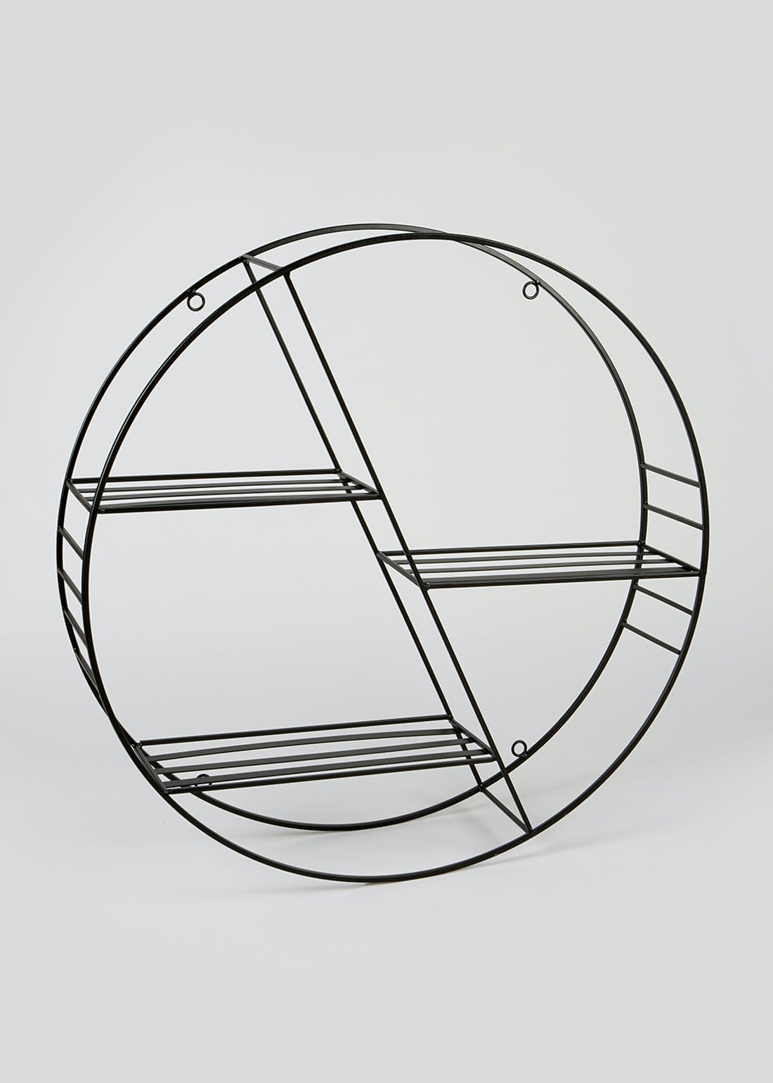 Circular Metal Shelf (53cm x 53cm)