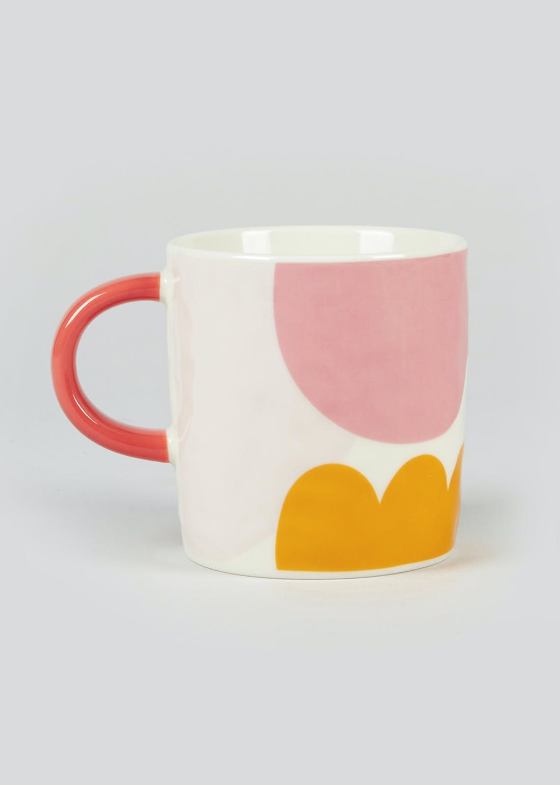 Abstract Colour Block Mug (9cm x 9cm)