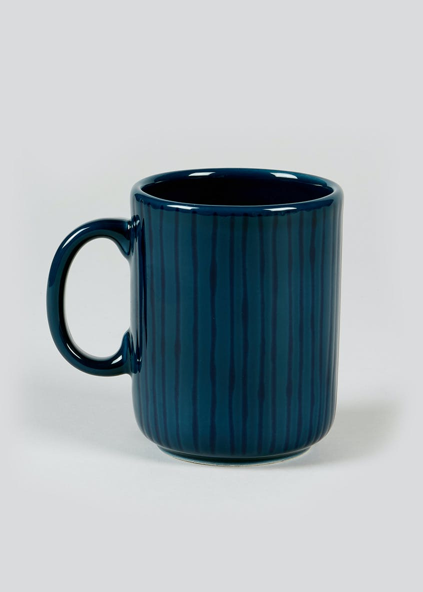 Stripe Earthenware Mug (11cm x 8.5cm)
