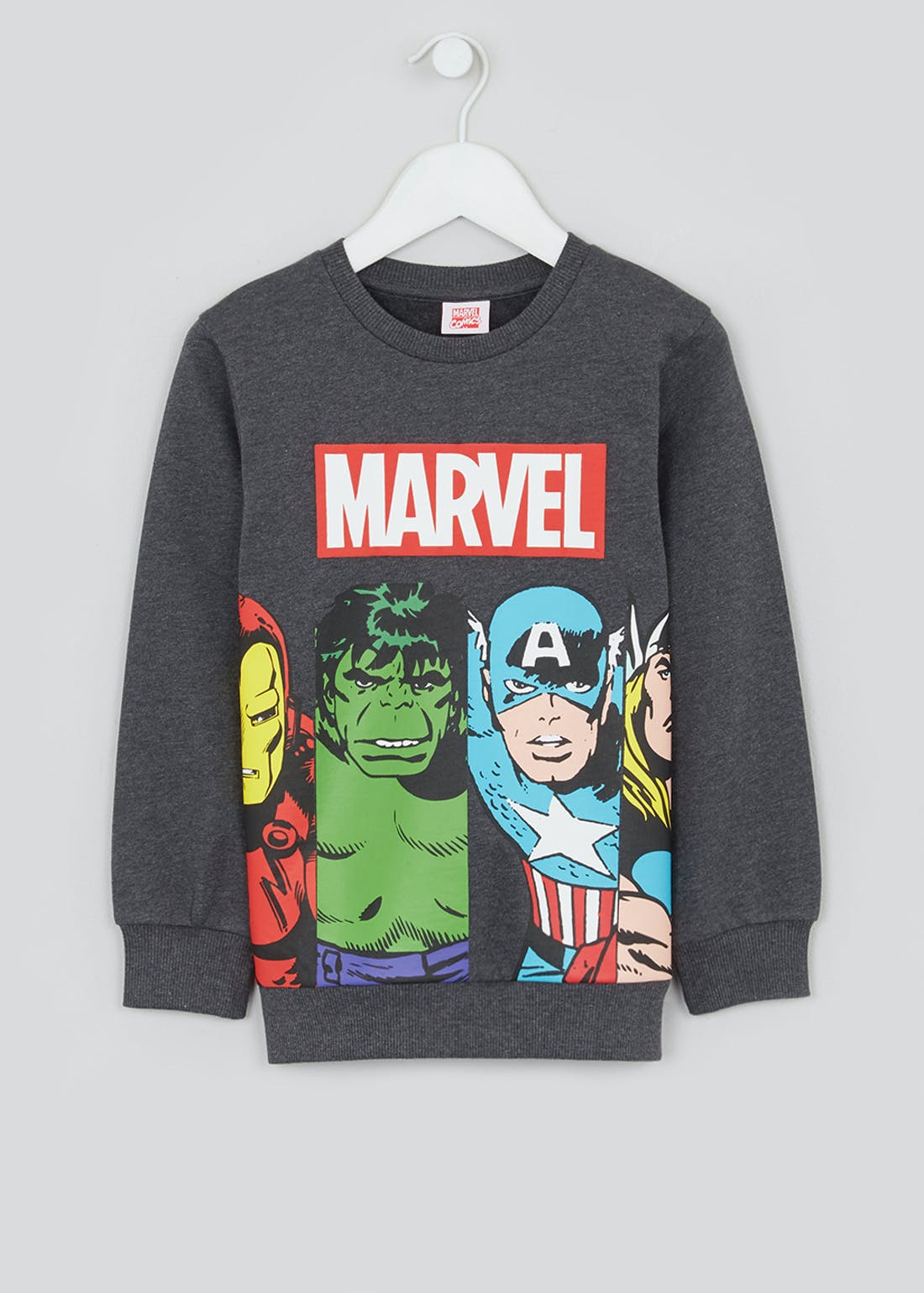 Kids Marvel Sweatshirt (2-9yrs)