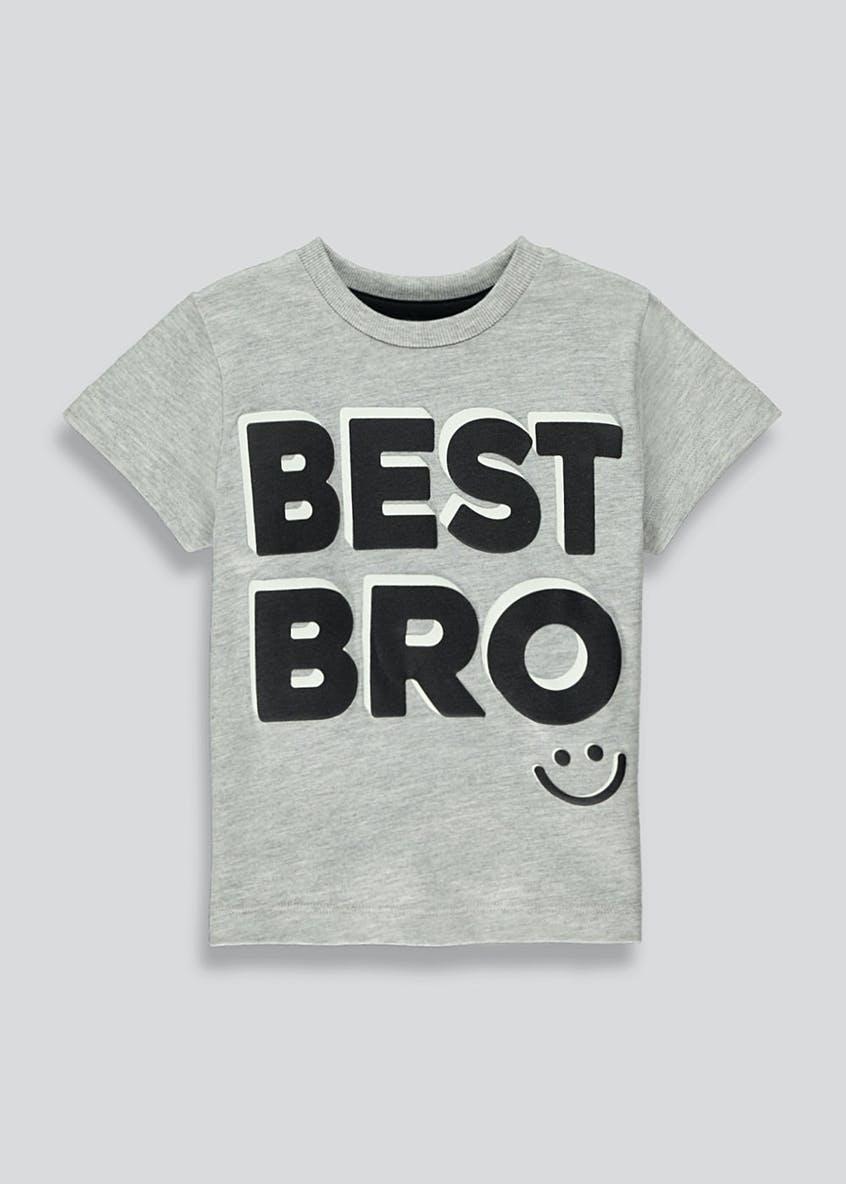 Boys Best Bro T-Shirt (9mths-6yrs)