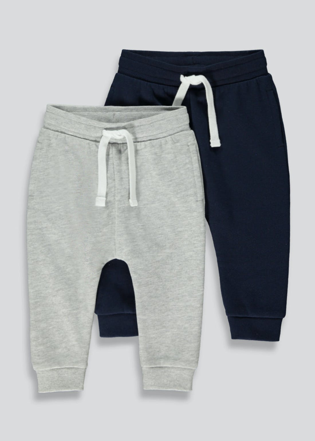 Boys 2 Pack Joggers (9mths-5yrs)