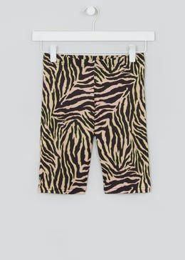 Girls Candy Couture X Zebra Co-Ord Cycling Shorts (9-16yrs)