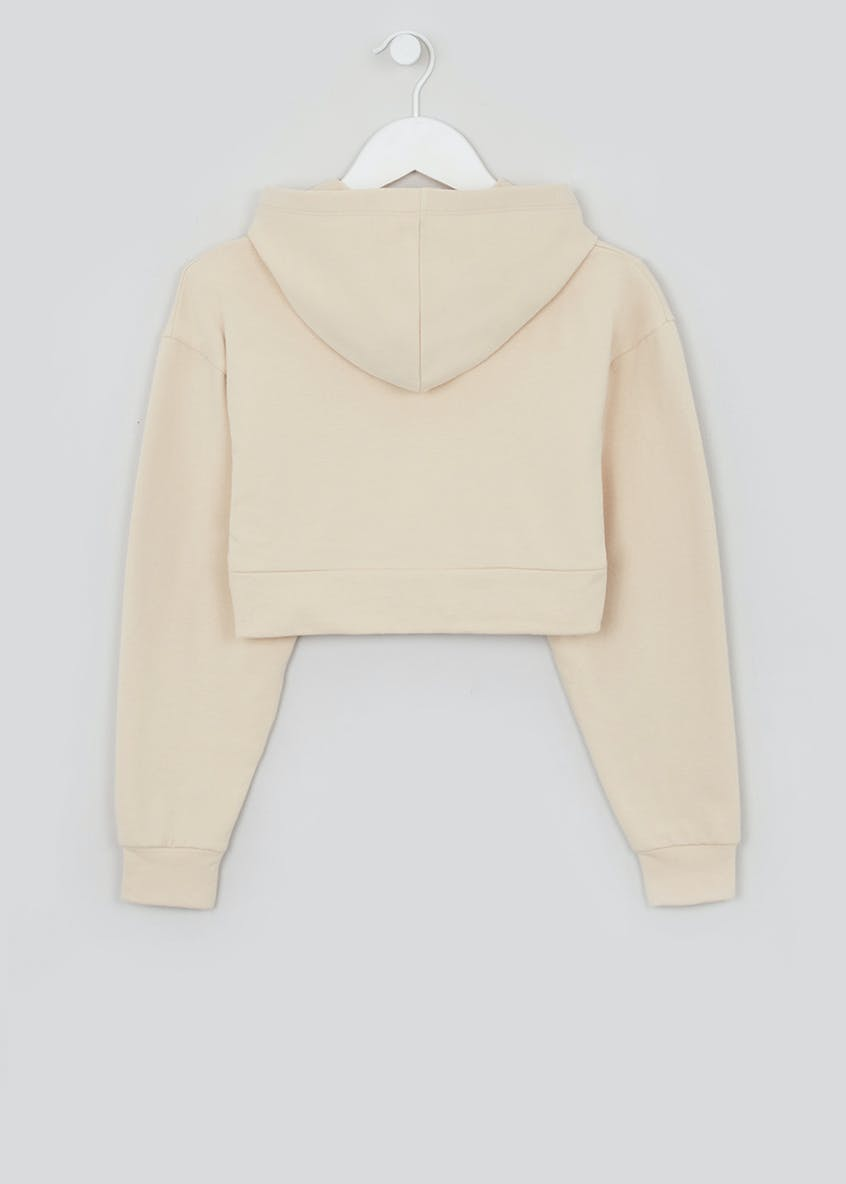 Girls Candy Couture X Utility Crop Hoodie (9-16yrs)