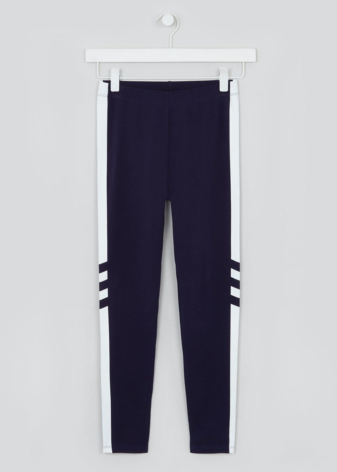 Girls Candy Couture Sporty Side Stripe Leggings (9-16yrs)