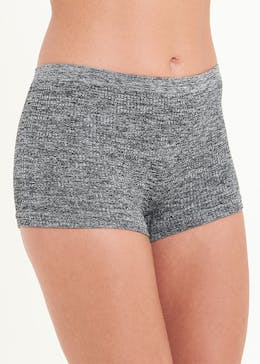 3 Pack Seam Free Ribbed Short Knickers