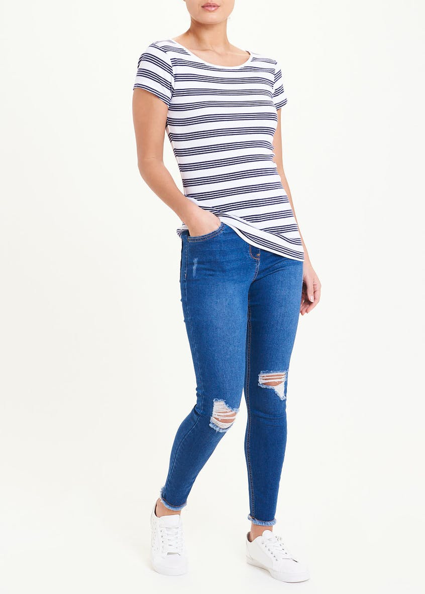 Perfect Stripe Short Sleeve T-Shirt
