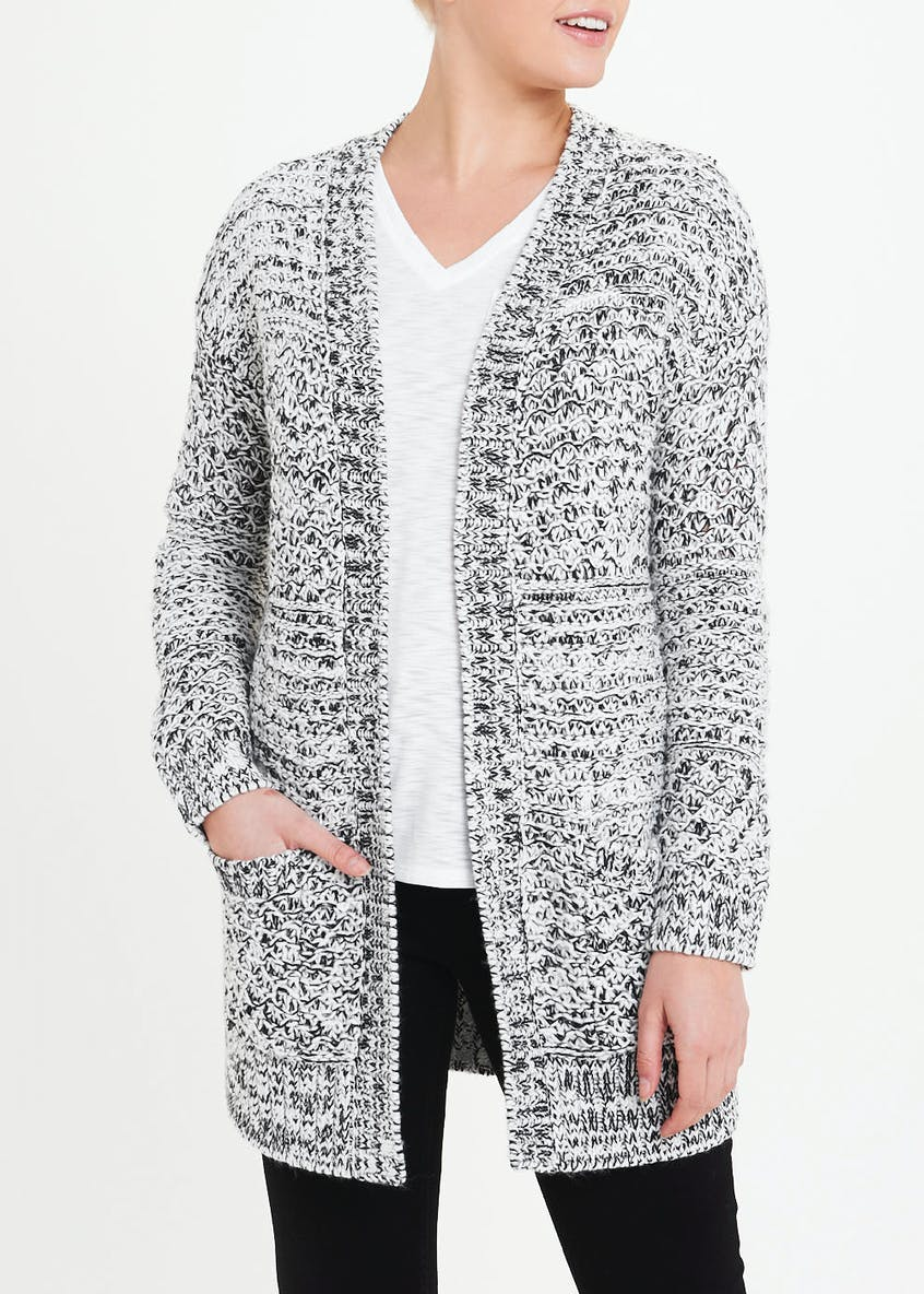 Chunky Twist Knit Cardigan