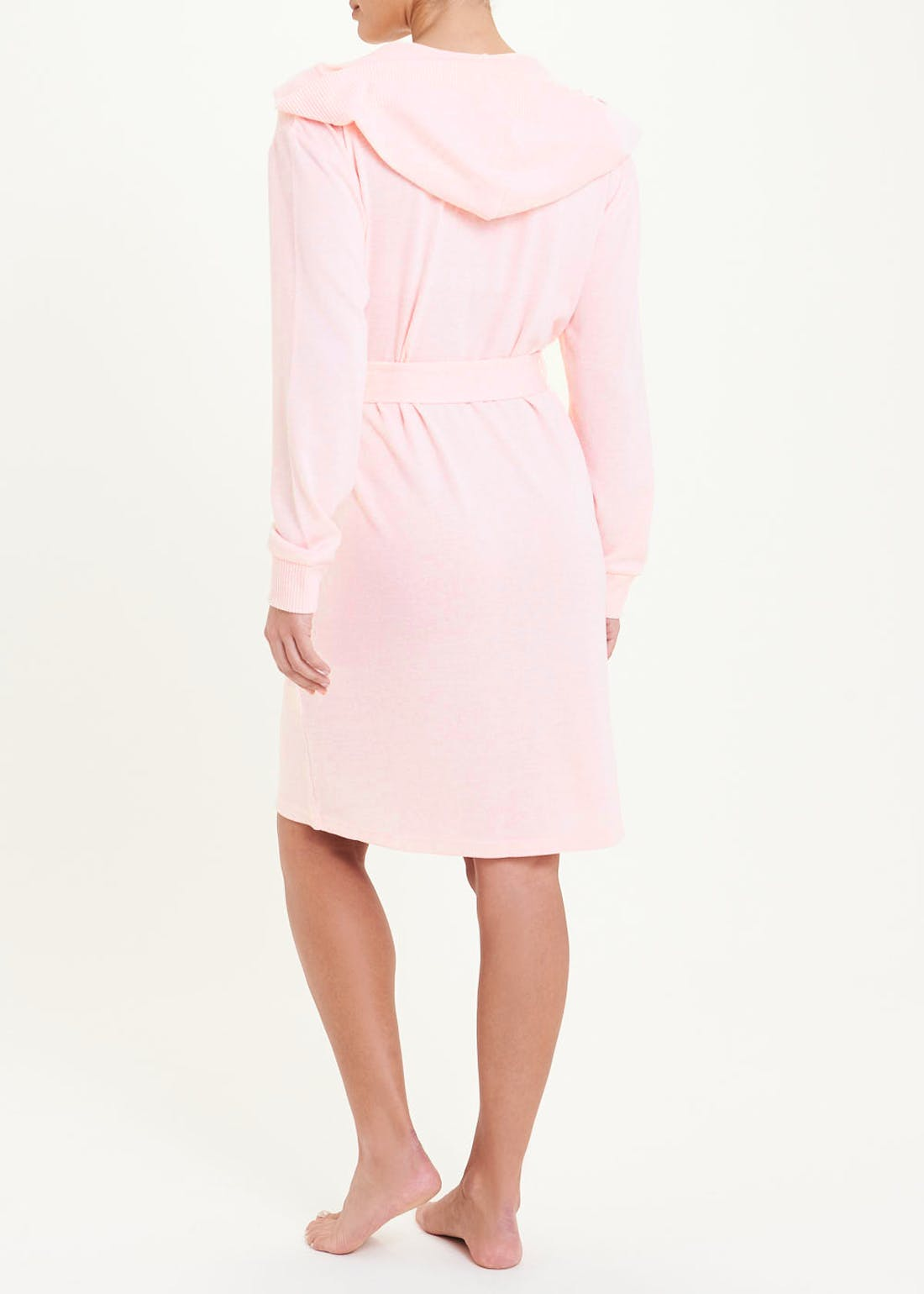 Ribbed Snit Dressing Gown