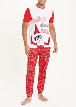 Elf On The Shelf Christmas Pyjama Set