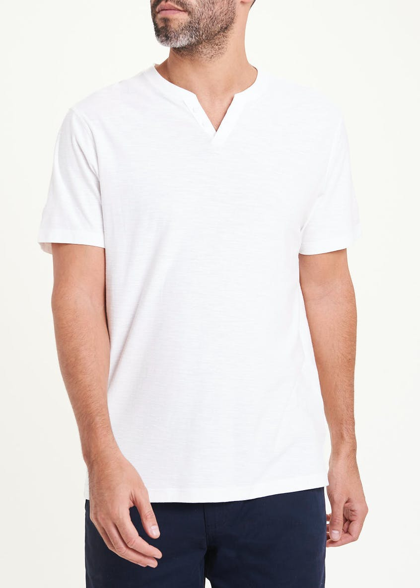 Lincoln Short Sleeve Notch Neck T-Shirt