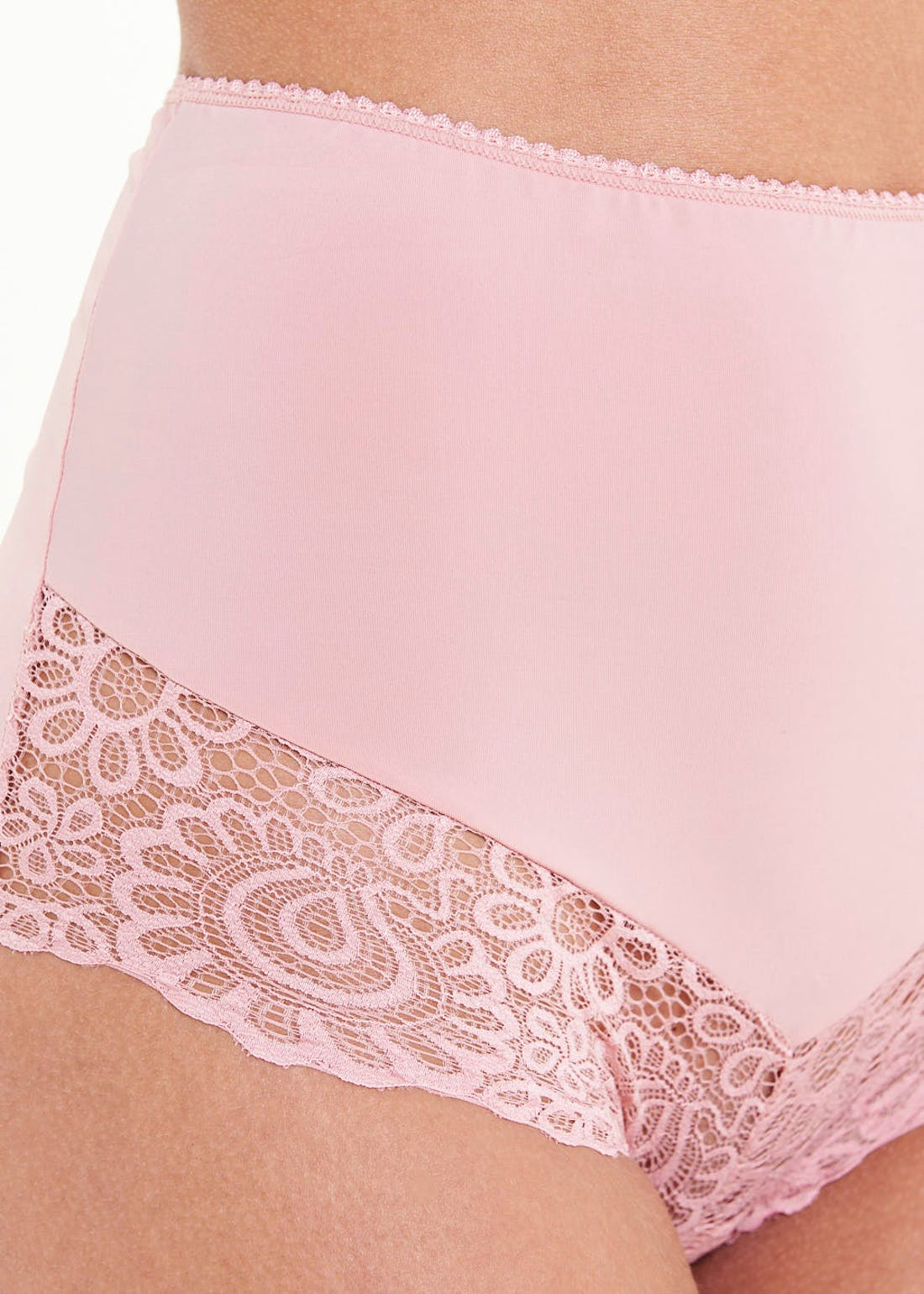 3 Pack Micro Lace Full Knickers
