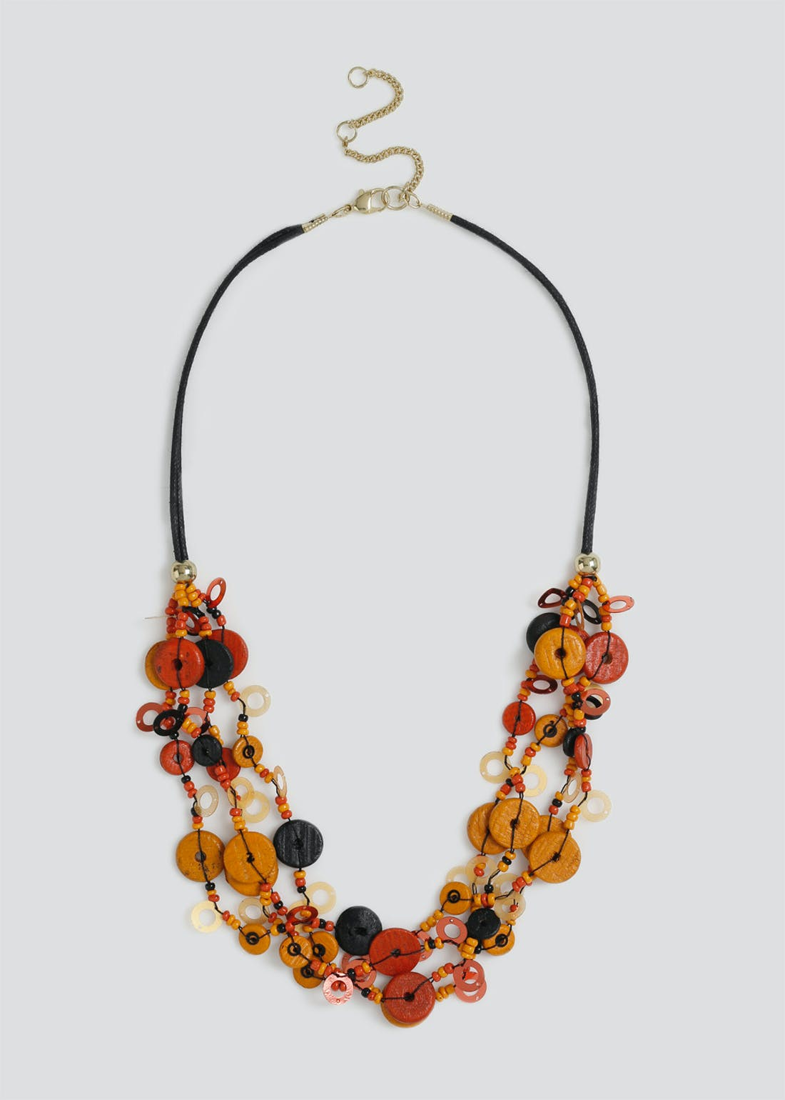 Sequin Multi Layered Necklace