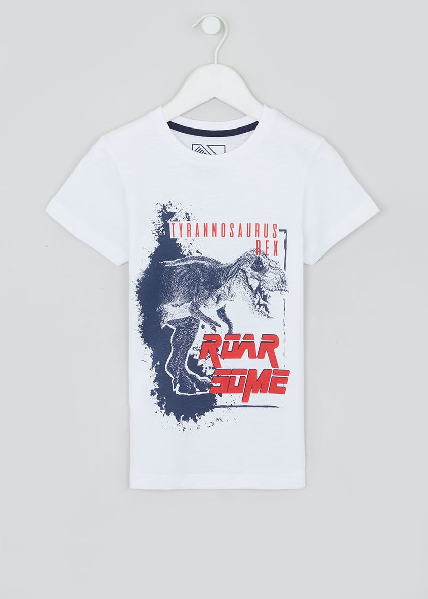 Boys T-Rex T-Shirt (4-13yrs)