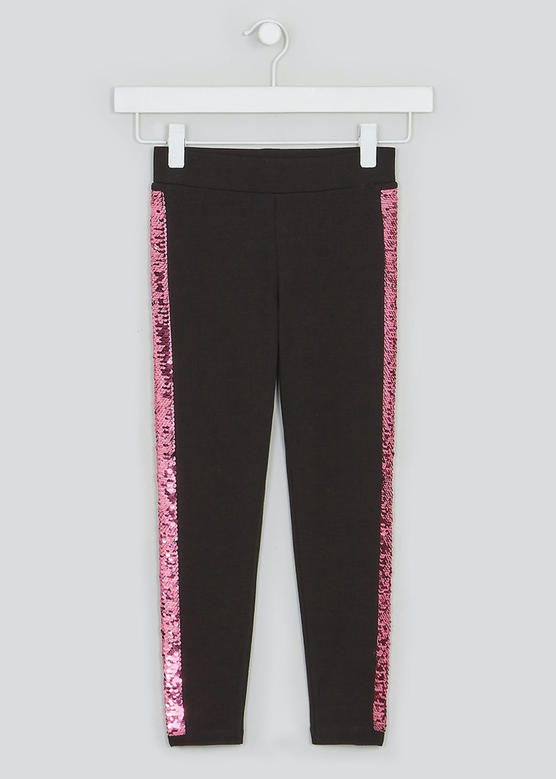Girls Flippy Sequin Leggings (4-13yrs)