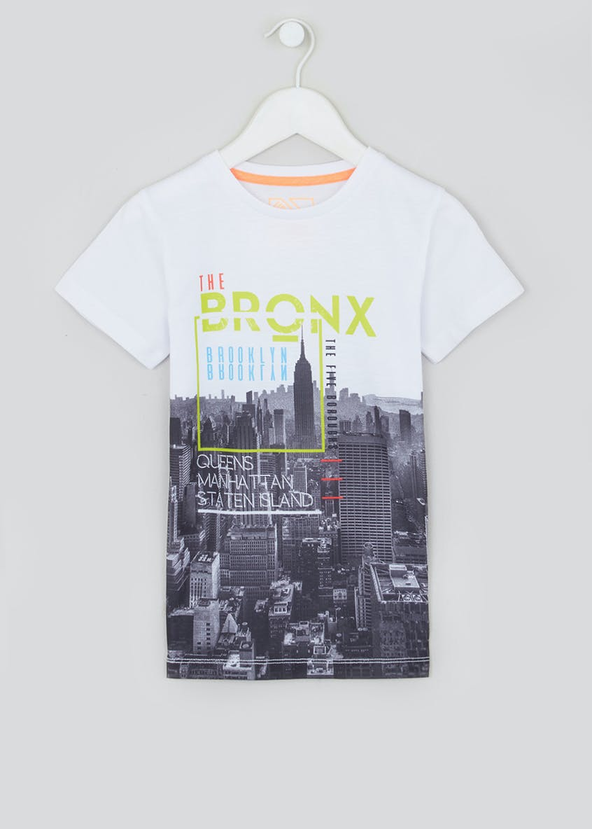 Boys Bronx Cityscape T-Shirt (4-13yrs)
