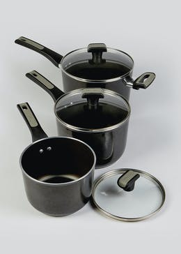3 Pack Prestige Dura Forge Non Stick Pan Set