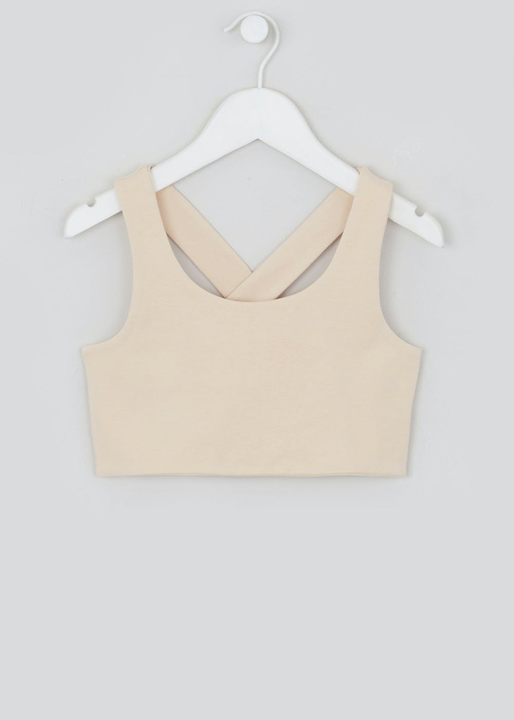 Girls Candy Couture X Jersey Crop Top (9 16yrs) by Matalan