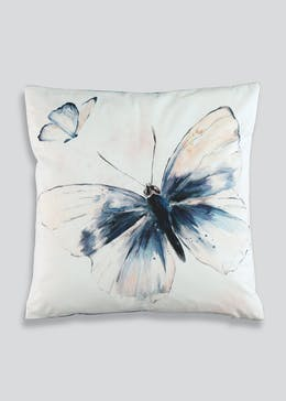 Watercolour Butterfly Cushion (46cm x 46cm)