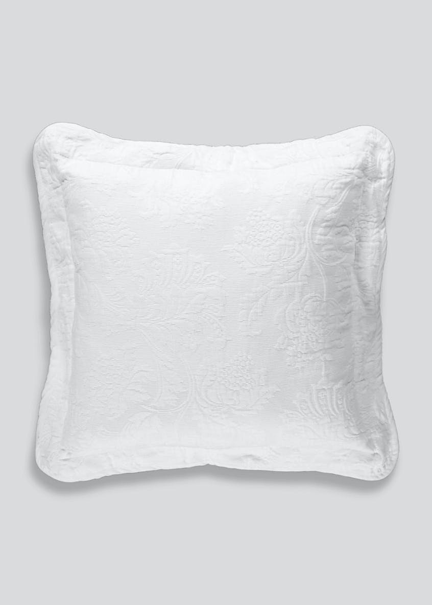 Cotton Matelasse Cushion (40cm x 40cm)