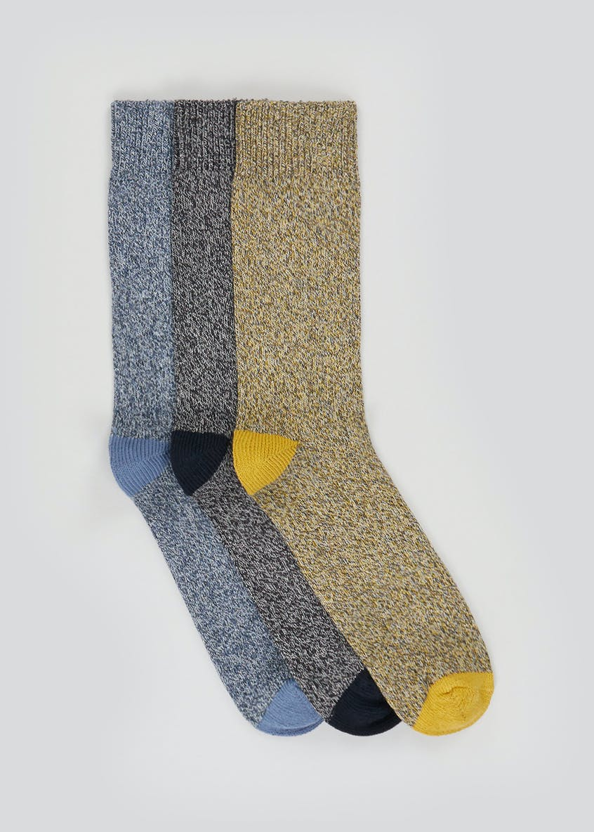 3 Pack Thick Knit Socks
