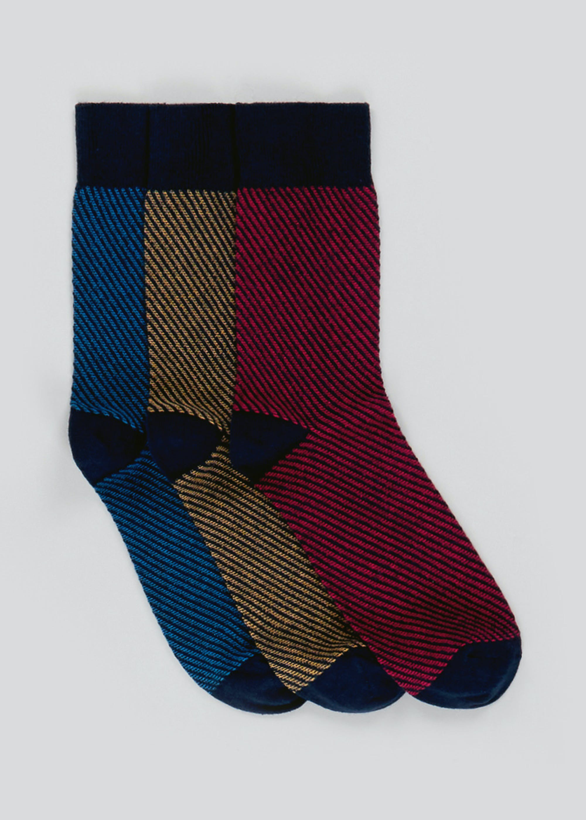 3 Pack Thick Knit Socks Multi MioyTs