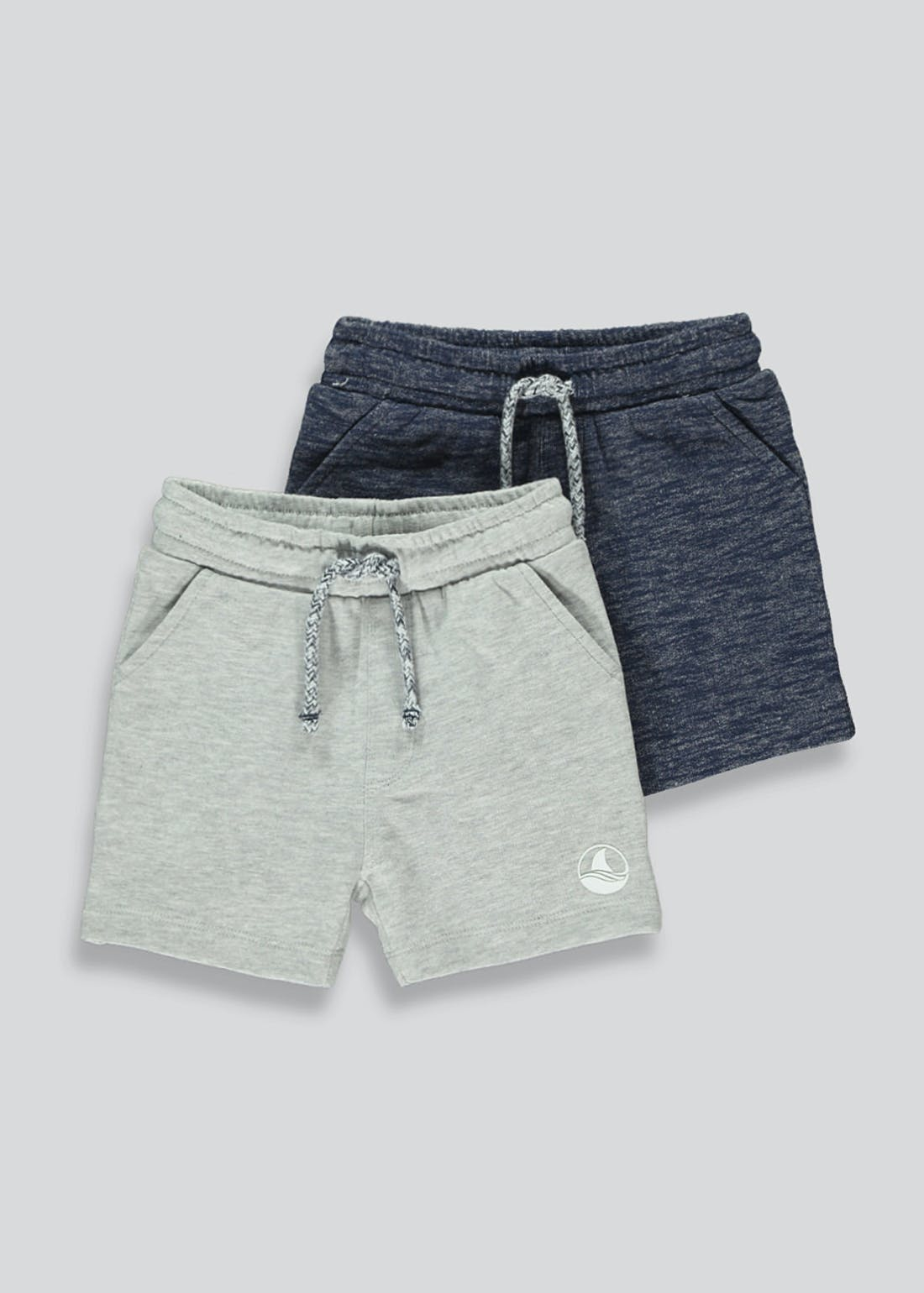 Boys 2 Pack Jogger Shorts (9mths-6yrs)