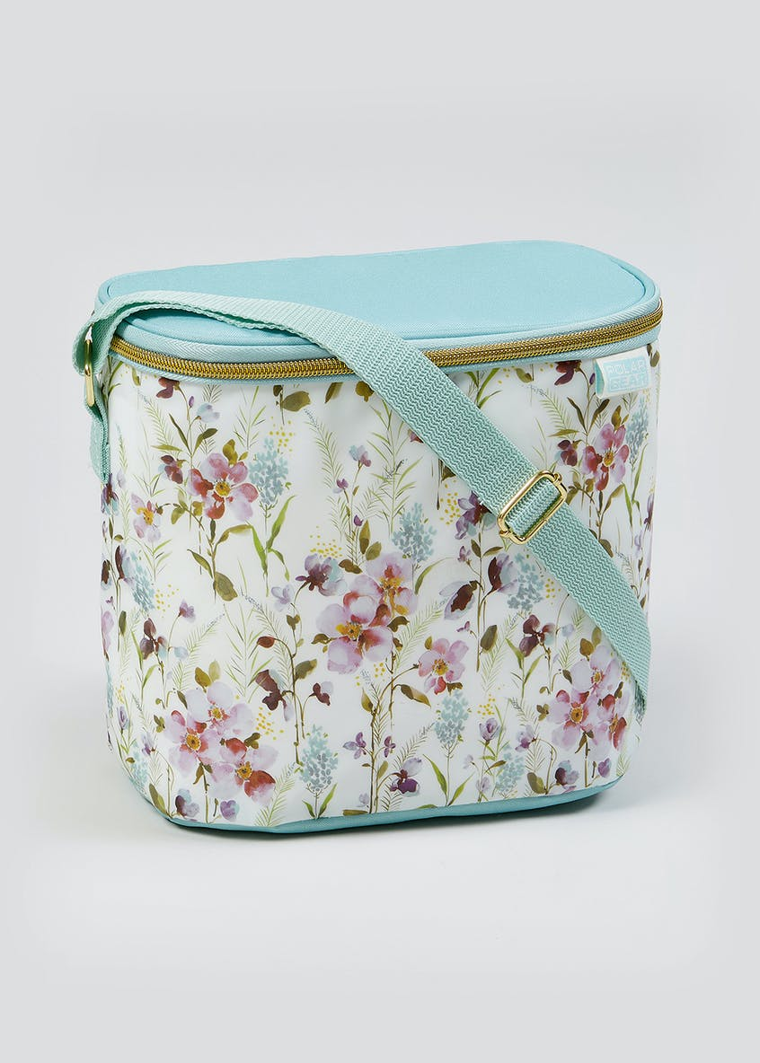 Floral Print Lunch Bag (23.5cm x 20cm x 15cm)
