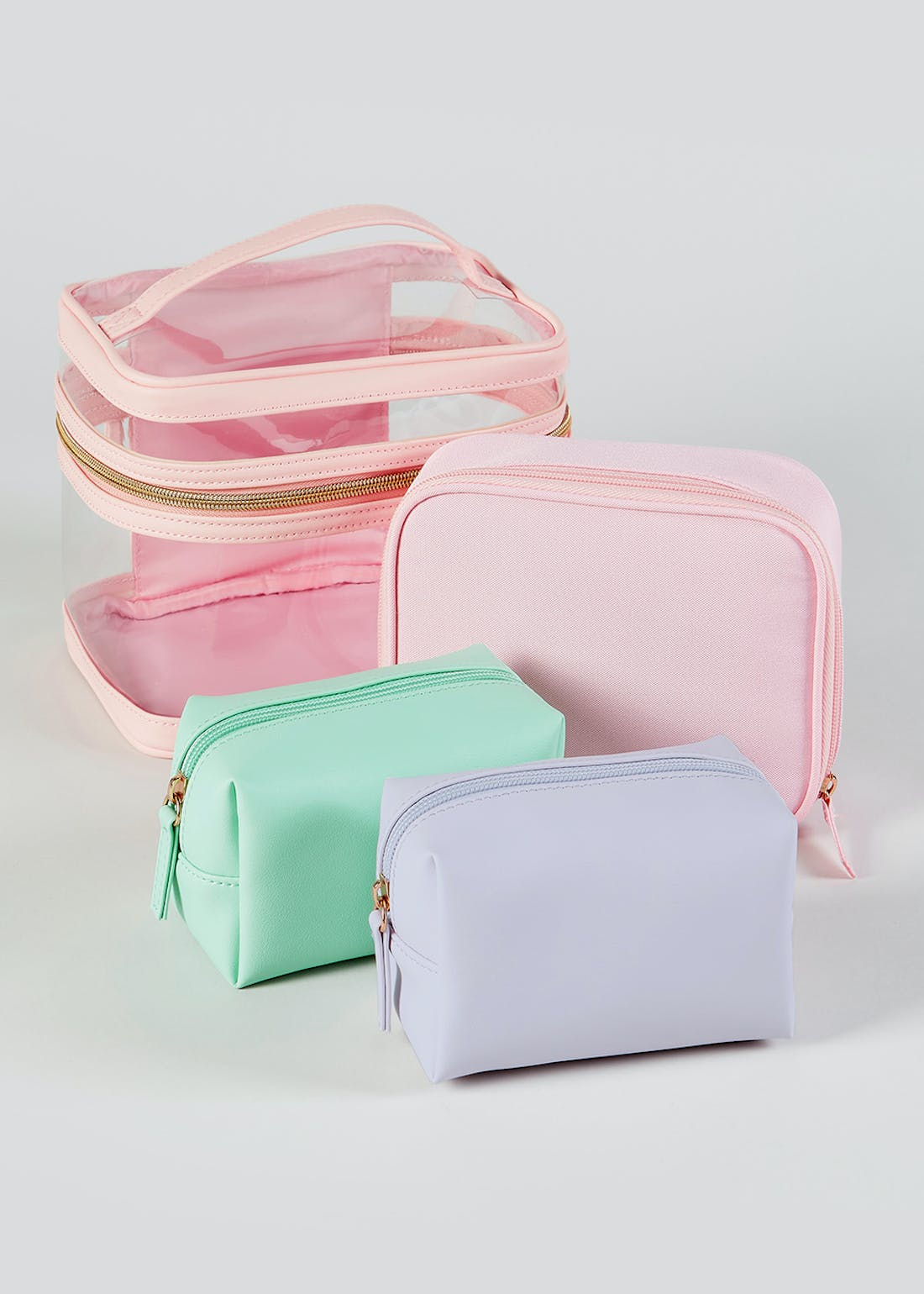 4 Pack Cosmetic Cases