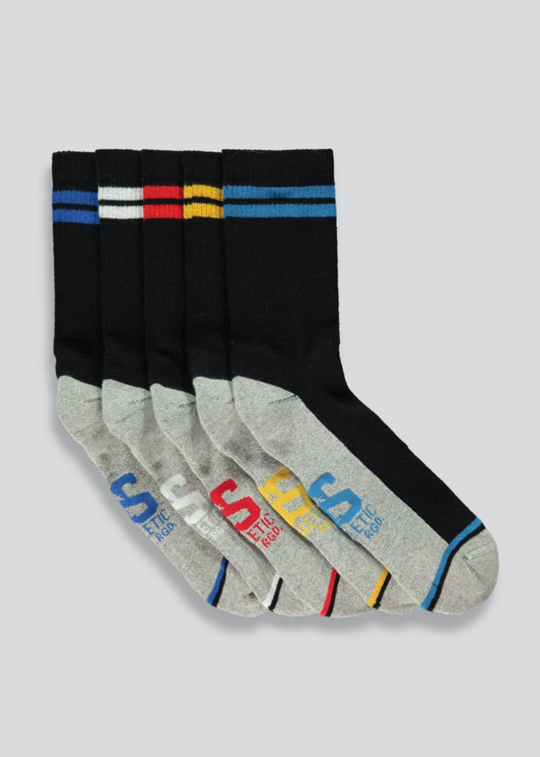 US Athletic 5 Pack Socks