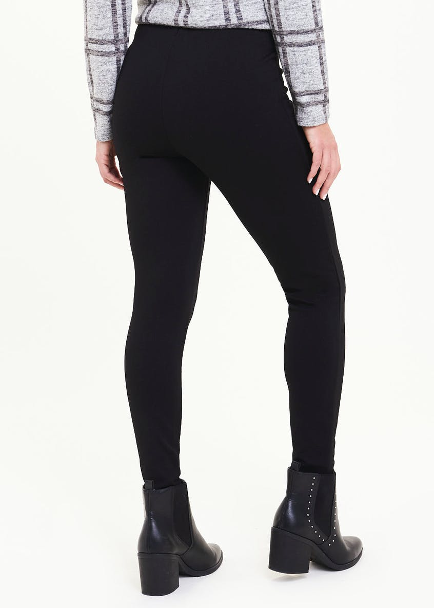 Zip Side Body Shaper Leggings