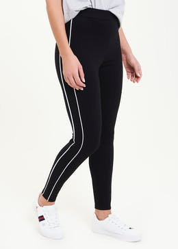 Side Stripe Body Shaper Leggings