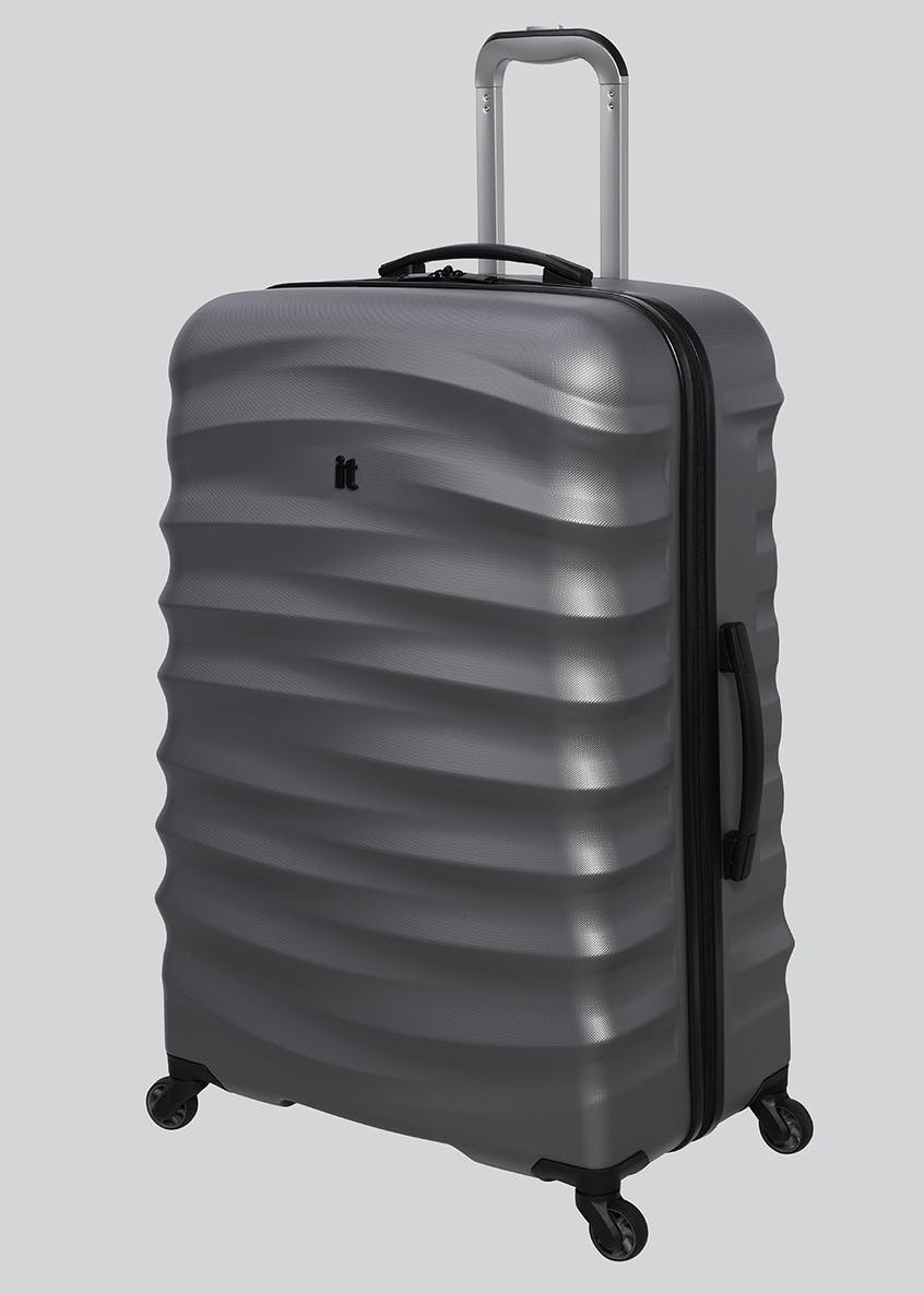 IT Luggage Carved Stripe Hard Suitcase
