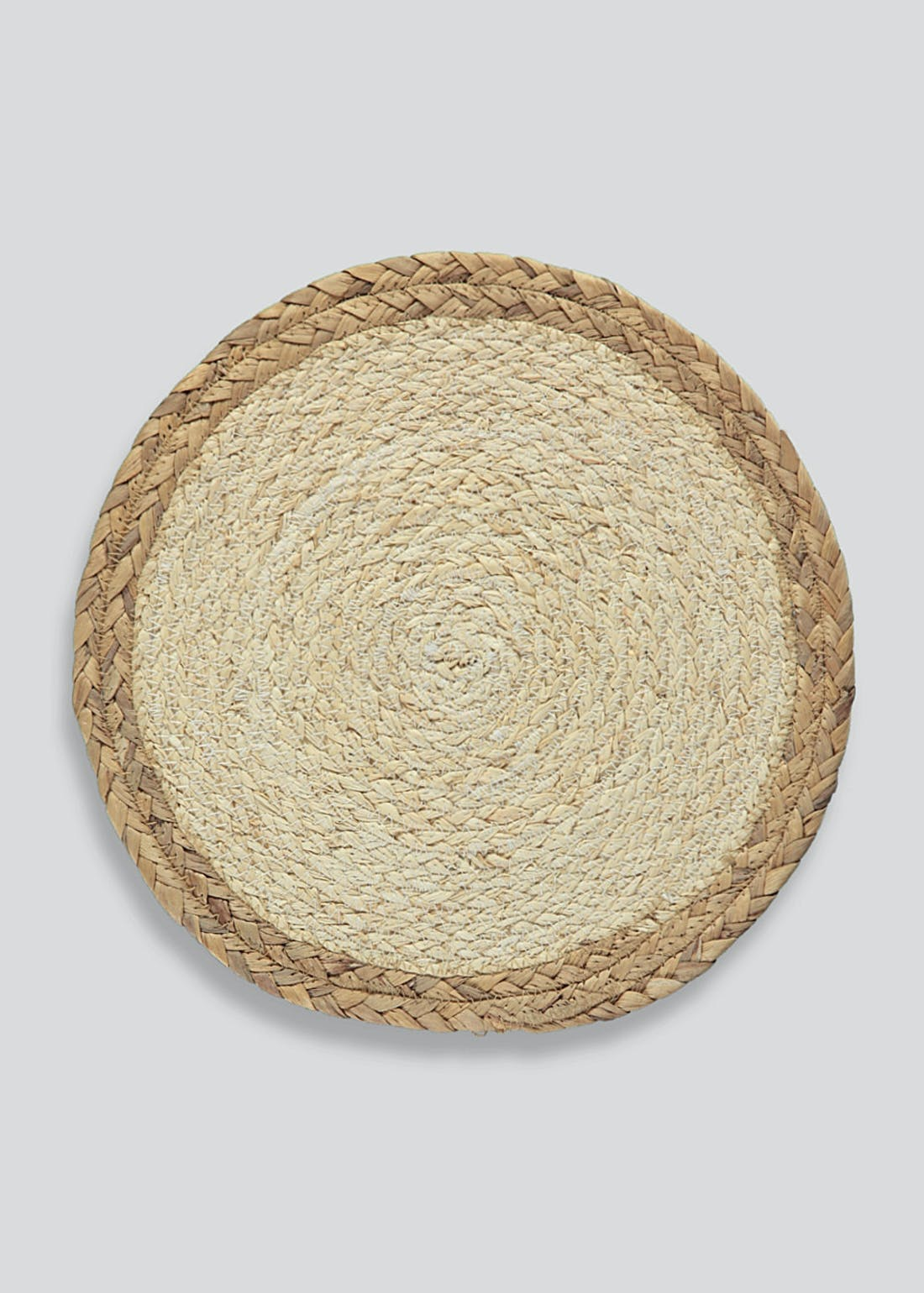 Two Toned Seagrass Placemat (36cm)