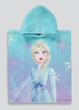 Kids Disney Frozen 2 Poncho (One Size)