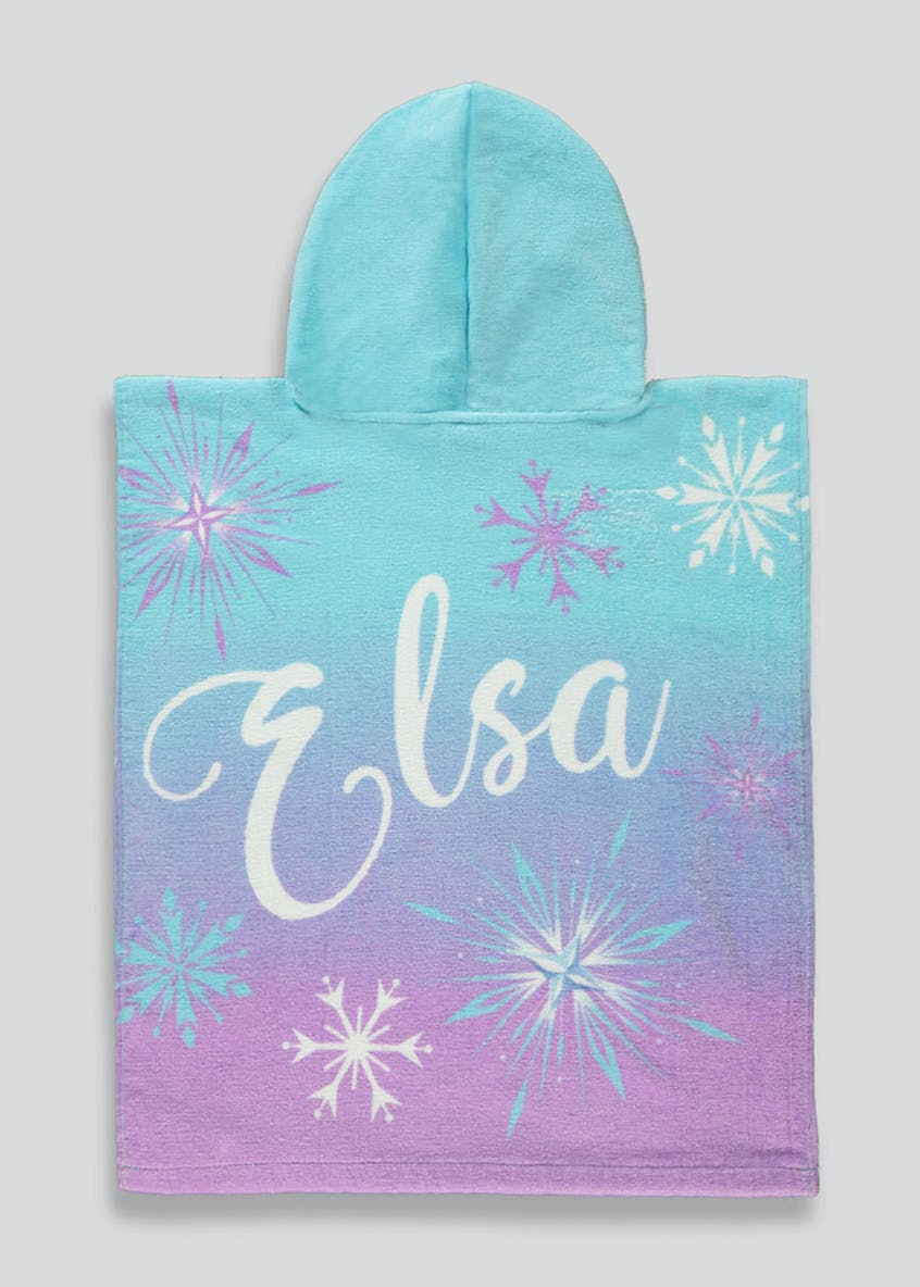 Kids Disney Frozen 2 Hooded Towel (One Size)
