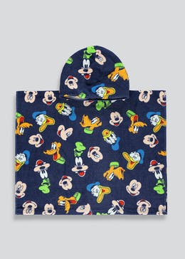 Kids Disney Mickey & Friends Poncho (One Size)