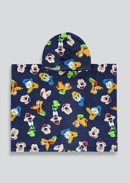 Kids Disney Mickey & Friends Hooded Towel (One Size)