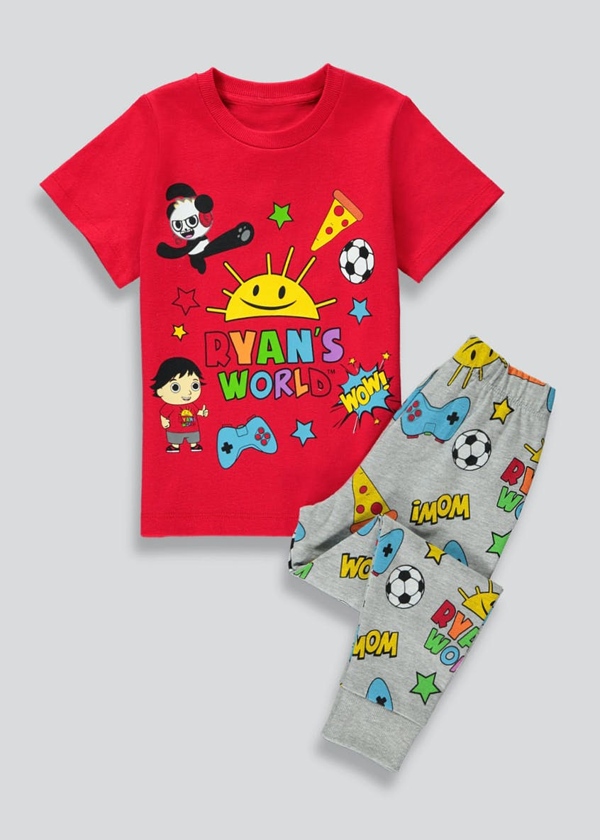 Kids Ryan's World Pyjama Set (2-6yrs)