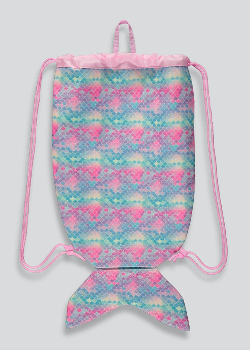 Girls Mermaid Swim Bag
