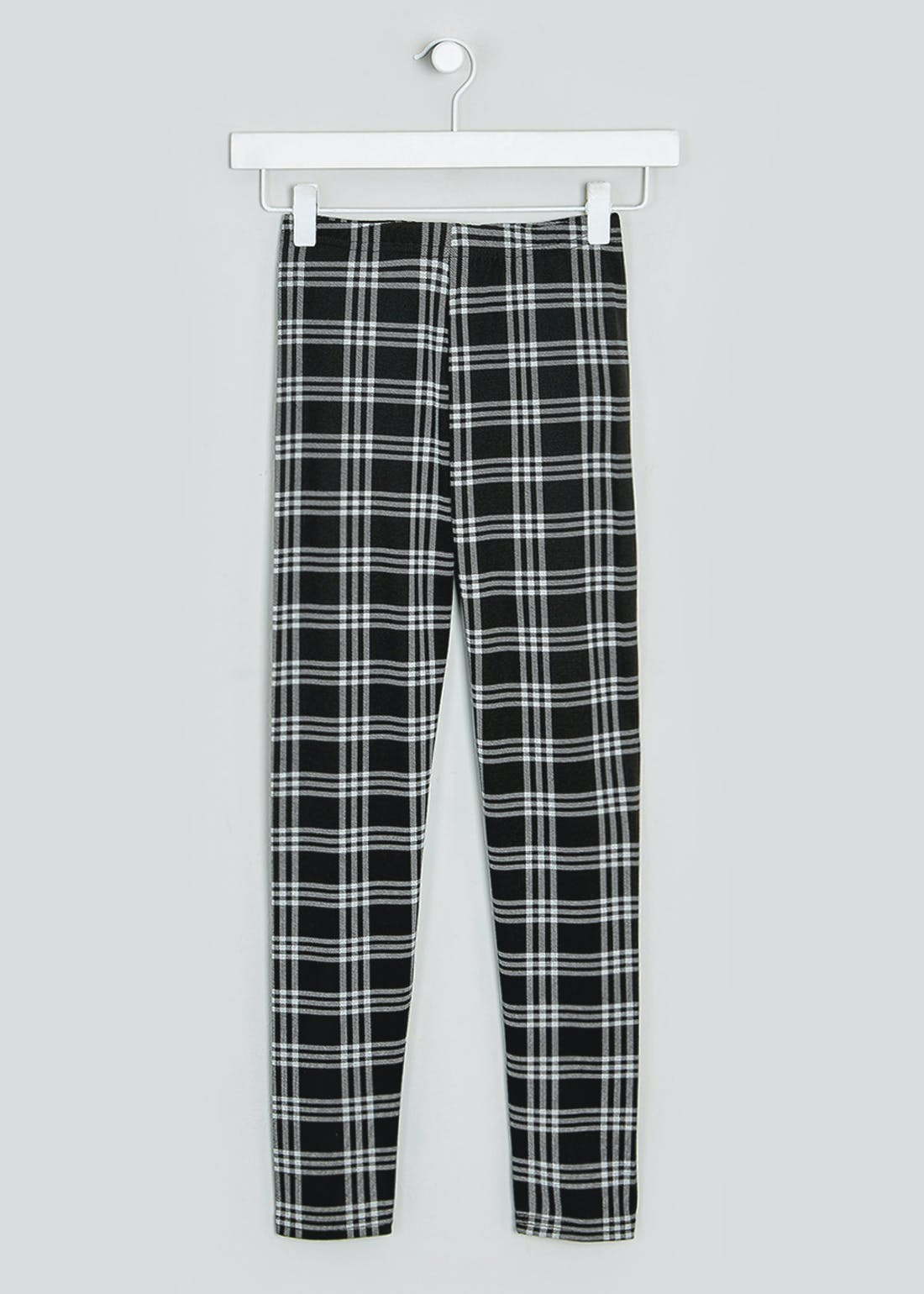 Girls Candy Couture Check Leggings (9-16yrs)
