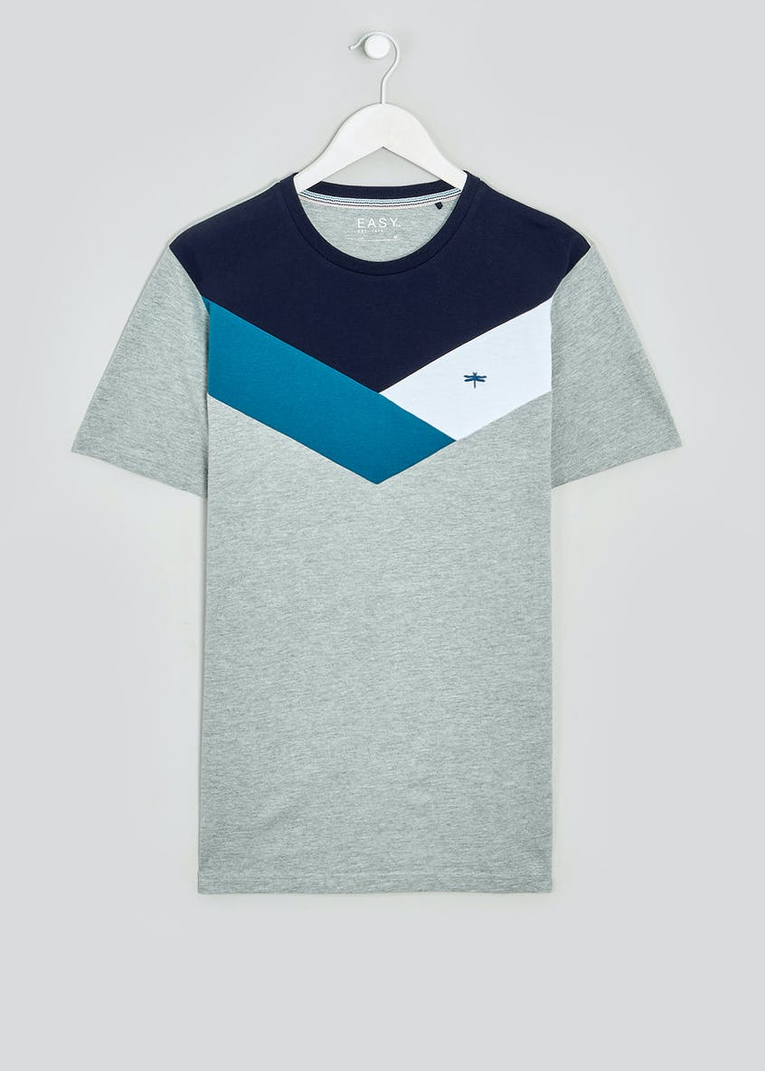 Chevron Colour Block T-Shirt