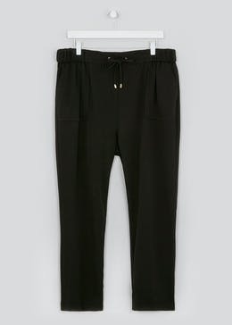 Papaya Curve Smart Ponte Joggers