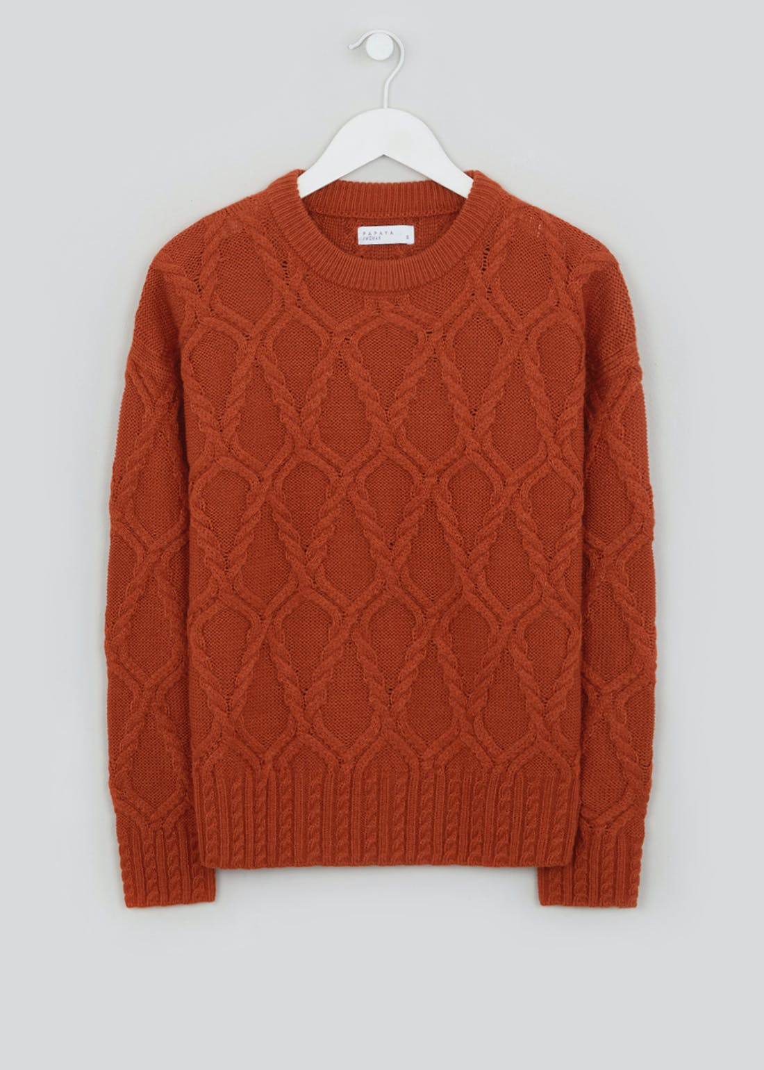 Boxy Cable Knit Jumper