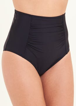 Tummy Control High Waist Bikini Bottoms