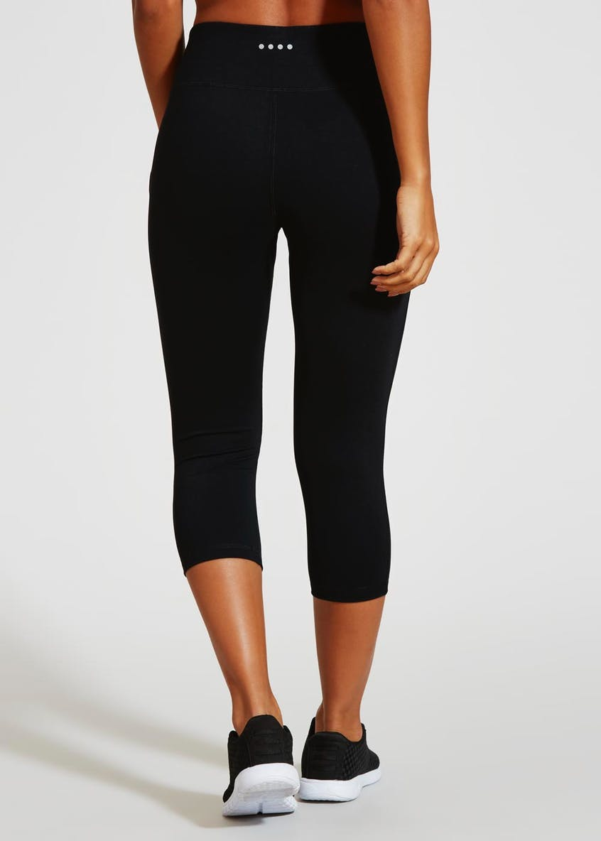 Souluxe Black Capri Gym Leggings